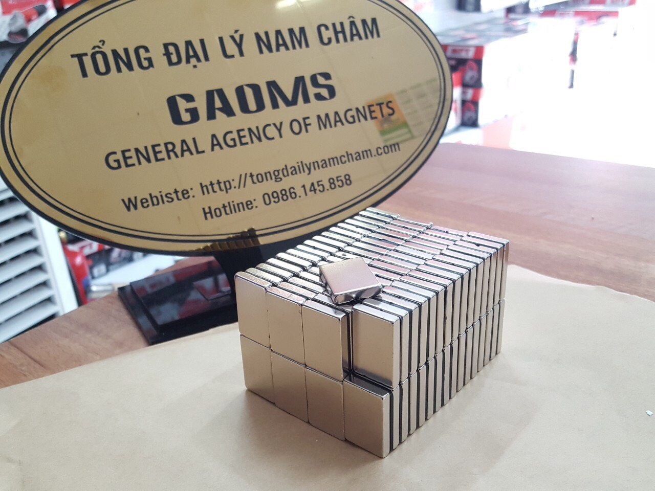 General Agency Of Magnets Viet Nam and magnet price list with magnets video