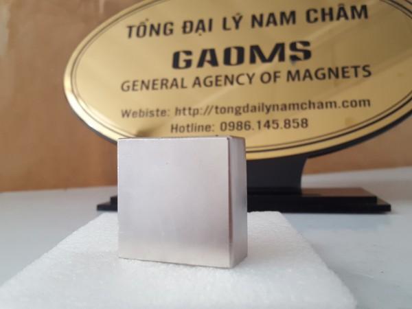 Nam châm siêu cường 50x50x15mm - TỔNG ĐẠI LÝ NAM CHÂM GAOMS
