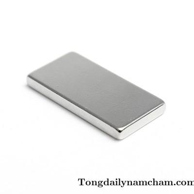 Nam châm viên lực hút mạnh 30x15x10mm - Neodymium 30x15x10mm