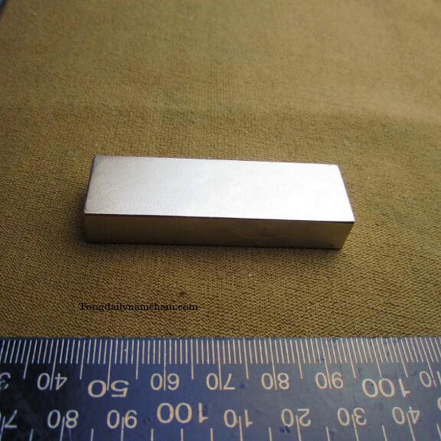 Nam châm viên trắng đất hiếm 60x20x10mm - Magnet 60x20x10mm