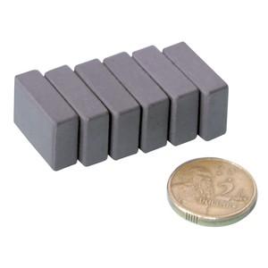 Nam châm viên ferrite 40x25x10mm hình chữ nhật