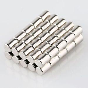 Nam châm viên trắng 3x4mm - Round magnet 3x4mm