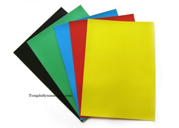 Nam châm dẻo A4 nhiều màu - Colour Flexible magnet A4 in Vietnam
