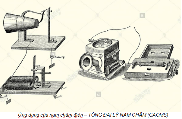 Nam châm điện - Thiết bị đa dụng trong công nghiệp