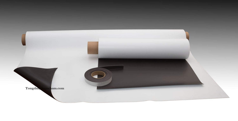 Nam châm dẻo Nhật dày 0.75mm 620x0.75x15000mm
