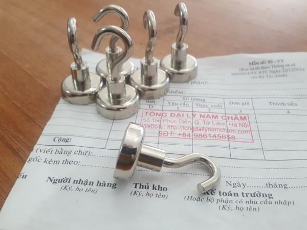 Móc Treo Nam Châm hỏi D25mm