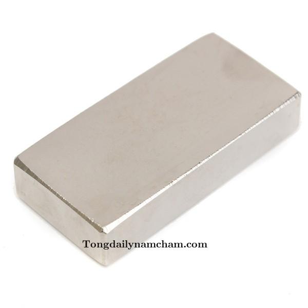 Nam châm viên 50x20x10mm- Nam châm đất hiếm Neodymium