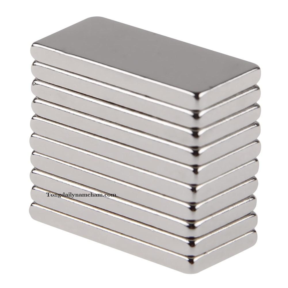 Nam châm viên 20x10x2mm - Neodymium Magnet 20x10x2mm