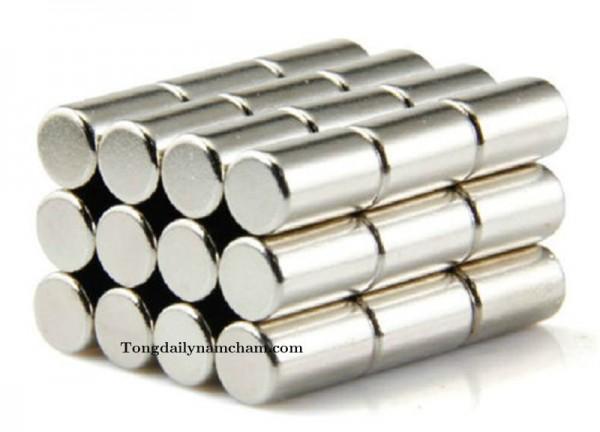 Nam châm viên tròn 5x10mm - Round magnet 5x10mm