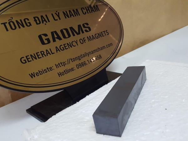 Nam châm đen ferrite hình khối KT 150x30x25mm