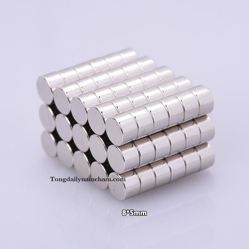 Nam châm viên 8x5mm - Round magnet 8x5mm
