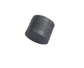 Nam châm viên ferrite màu đen 10x2mm