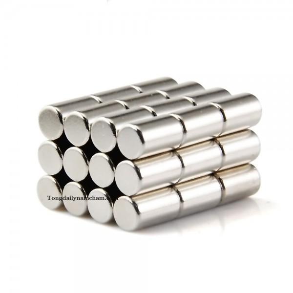 Nam châm viên tròn 10x30mm - Round magnet 10x30mm
