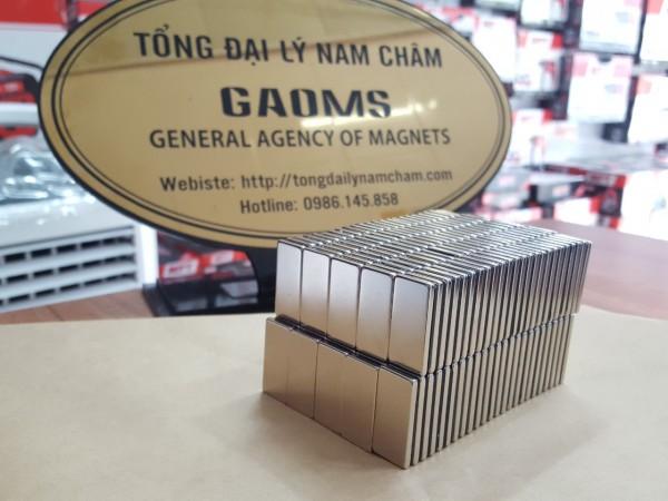Nam châm đất hiếm 30x15x3mm (Viên) - Hà Nội